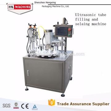 Machine automatique de remplissage et de cachetage d'aluminium de crème cosmétique