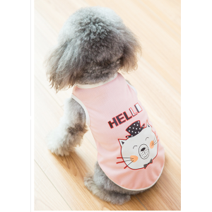 New transfer printing dog clothes for sale