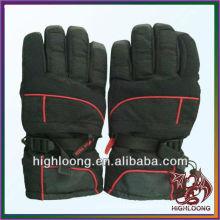 Unisex hi-quality Durable Motorcycle Red Line Windproof Adjustable Ski Glove