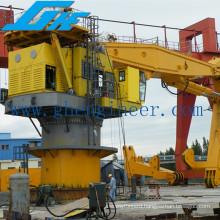 Large Load Hydraulic Knuckle Boom PORT Marine Crane