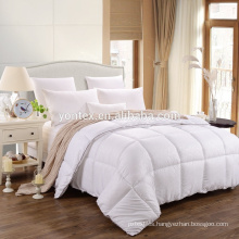 White quilting thin mattress pad for hotel use