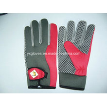 Safety Glove-Work Glove-PVC Dotted Glove-Labor Glove-Industrial Glove-Weight Lifting Glove