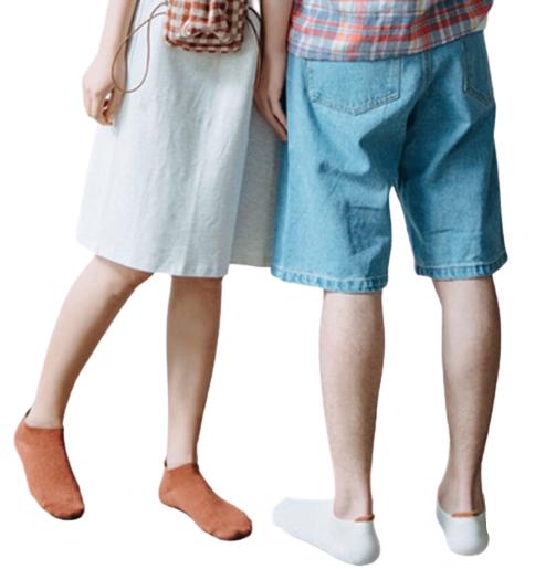 Mens Womens Plain Socks