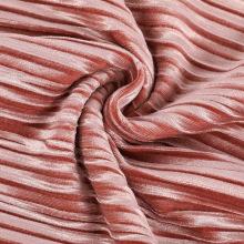 Novo tecido de malha de venda quente Tecido de veludo triturado