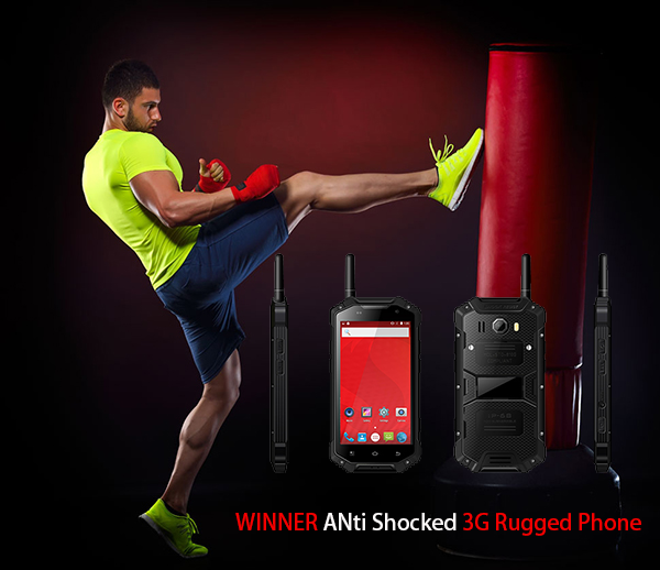 WINNER ANti Shocked 3G Rugged Phone
