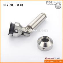 304 acero inoxidable Adjustable Glass triling Corner Connector