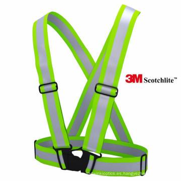 Aparato de seguridad amarillo de alta visibilidad / chaleco de seguridad