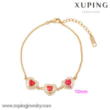 73933-Xuping Jewelry Hight Quality Fine Gold Plated Bracelet For Woamn
