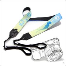 Venta al por mayor Logotipo personalizado / diseño de poliéster / correa de nylon de la correa del cuello para la llave / tarjeta de identificación / cámara