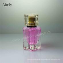 Forme de fleur 20ml Bouteilles en verre de parfum