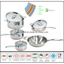 5 Layer Body Cookware Set