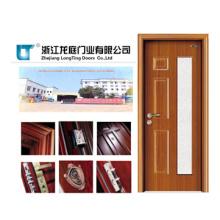 Porta de madeira de aço interior (LTG-203)