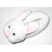 Plüsch gefüllte Tier Schuhe Hausschuhe Kaninchen Kopf (TF9717)