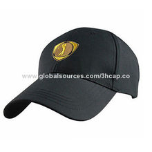 Baseball cap with cotton twill fabric and embroidery, 2 styles available