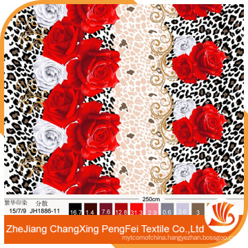 Polyester 3d printing brushed fabric for bed sheet