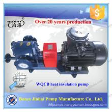 High viscosity heat insulation pump bitumen pump