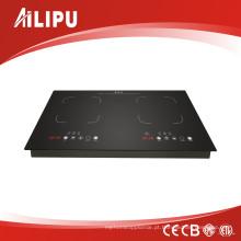 Modelo europeu Sm-Dic13b2 do fogão da indução dos queimadores dobro da tecnologia