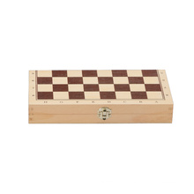 Wooden Chess and Backgammon Game (CB1070)