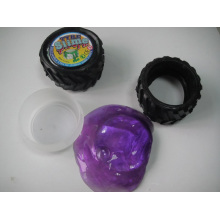 Novelty Tyre Wheel Putty Slime Toy