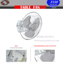 "16"" Oscillating Orbit Fan with Metal Blade 360 Degree Rotation"