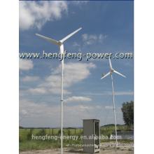Alta eficiencia y fábrica precio de generador de turbina de viento portátil