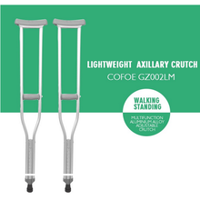 Adjustable Underarm Walking Telescopic Crutch