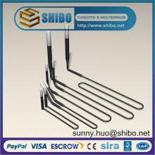 Alto rendimiento 1700c U Shape Mosi2 elemento de calefacción, Mosi2 calentador