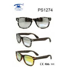 Fashionable Italian Double Color Kid Plastic Sunglasses (PS1274)