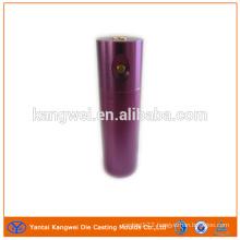 Aluminum CNC casting part electronic cigarette with color surface treatment