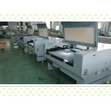 Máquina de corte a laser 60W 80W 100W 130W para indústria têxtil
