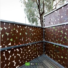Dekorasi Taman Corten Steel Metal Screens