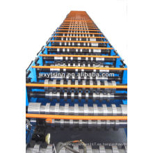 23-50 estaciones y alta resistencia Panasonic Metal Deck Forming Machine / Metal Decking Machine