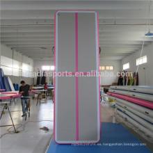 Pista de aire interior de la nueva manera con la línea cruzada esteras inflables del gimnasio