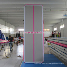 New Fashion Indoor Air Track With Cross Line Inflatable Gym Mats