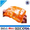 Plateau durable de glace de silicone de catégorie comestible en gros