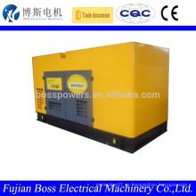 60HZ 3 fase 150KW Weifang tipo silencioso generador de emergencia