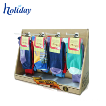 Retail Strong Hooks Hanging Packing Socks Display Rack