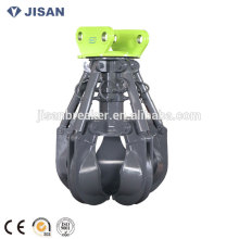 Jisan Rotating Orange Peel Grapple DLKM06 for SK135 excavator
