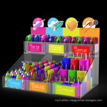 Acrylic Mobile Phone Accessories Display, USB Cable Display Counter