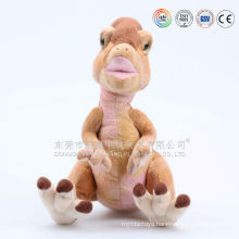 Stuffed purple and pink animals plush dinosaur toy