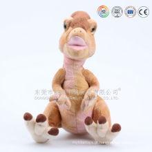 Pelúcia roxo e rosa animais brinquedo dinossauro de pelúcia