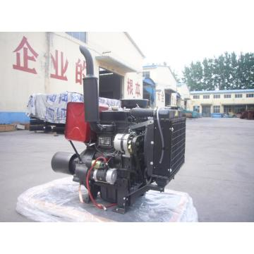2 Cylinder Water Cooled 25KW Diesel Engine