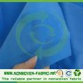 Tela no tejida laminada, (PP + PE) laminada para la sábana del hospital