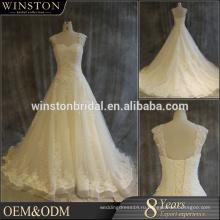 Горячая Китай поставщиком кружева лиф спинки Восточный свадебное платье