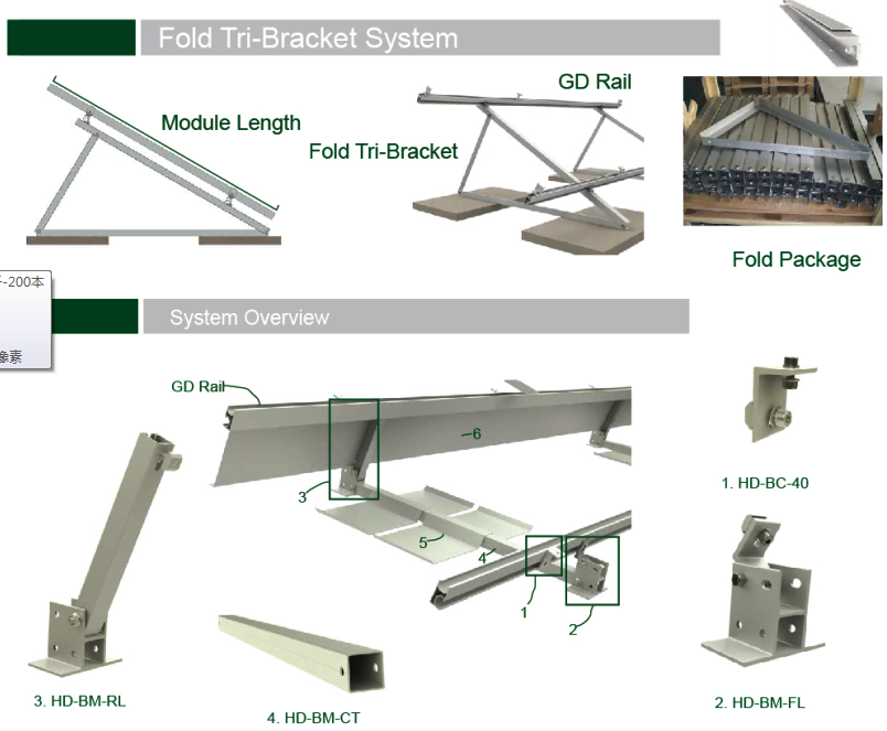 Flat Roof Mounting Brackets