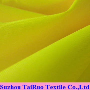 Polyester Oxford with Fluorescent Color for Fluorescent Cloth