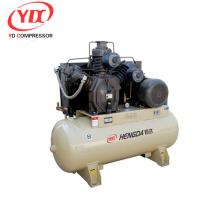 compresor de aire de baja presión y bajo costo equipado con tanque de aire
