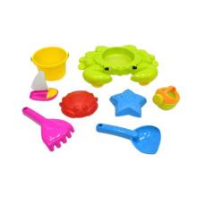 Juguete de la playa de la arena del plástico al por mayor del verano 8PCS para los niños (10194990)