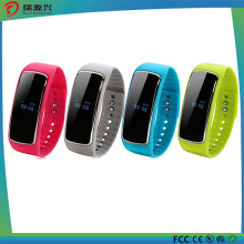 Soutenir Android et Ios Silicon Smart Bracelet sain (SW-1017-001)