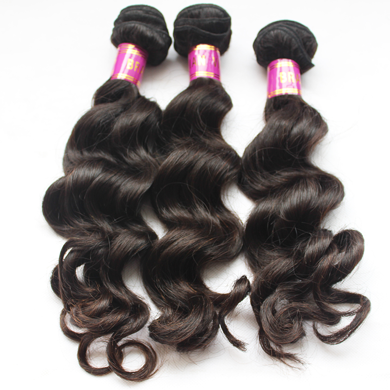 brazilian hair weaving loose wave